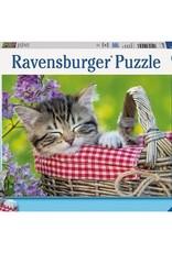 Ravensburger 100pc XXL Sleeping Kitten