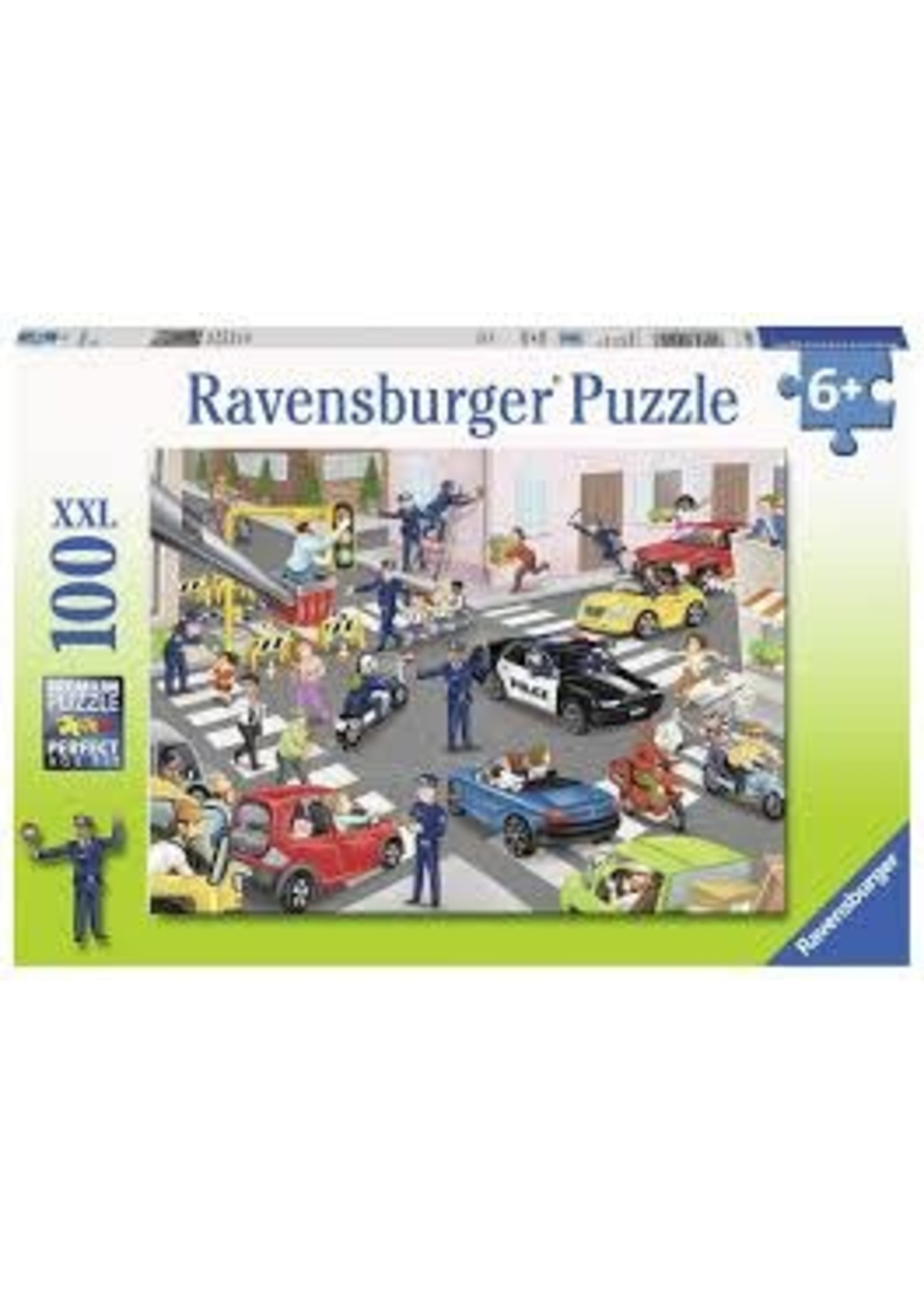 Ravensburger 100pc XXL puzzle Police Patrol
