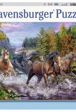 Ravensburger 100pc XXL Puzzle River Horses