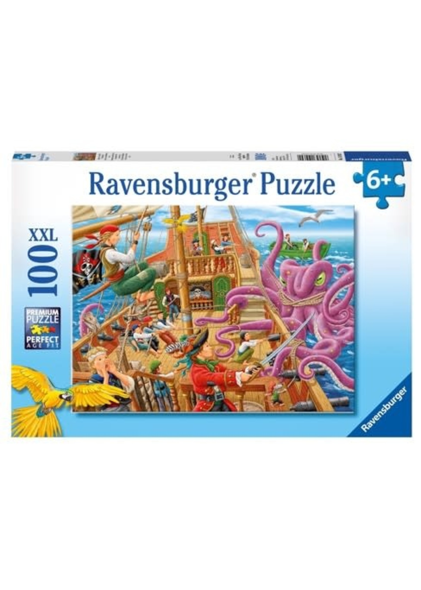 Ravensburger 100pc XXL puzzle Pirate Boat Adventure