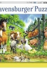 Ravensburger 100pc XXL puzzle Animal Get Together