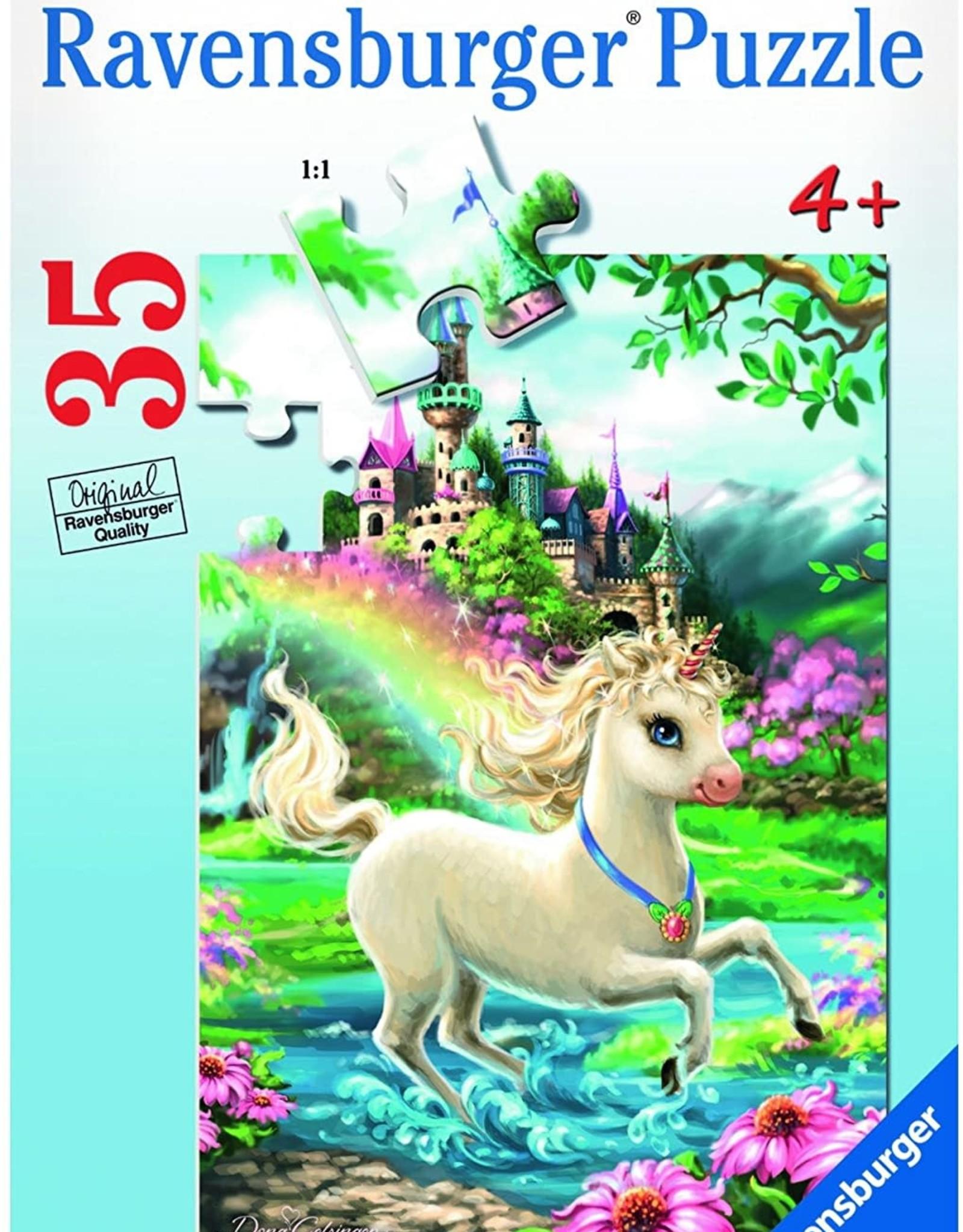 Ravensburger 35pc puzzle Unicorn Castle