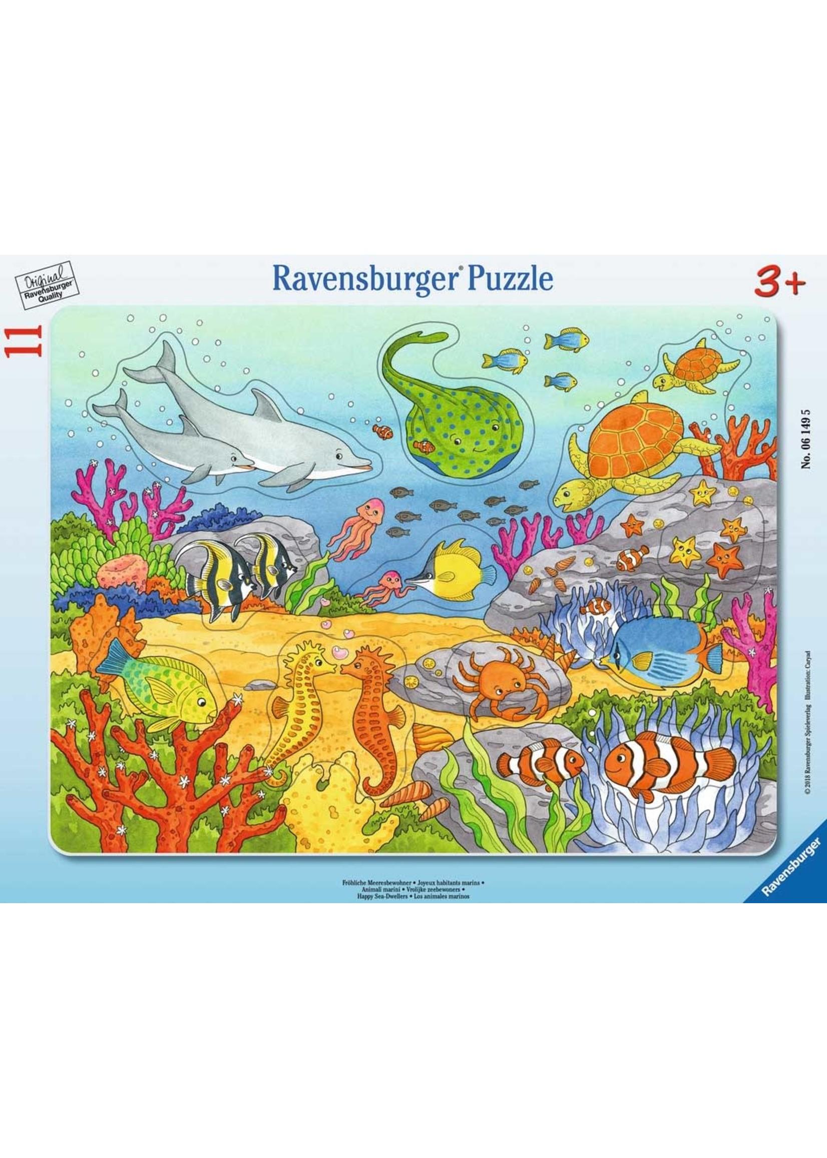 Ravensburger 11pc puzzle Happy Sea Dwellers