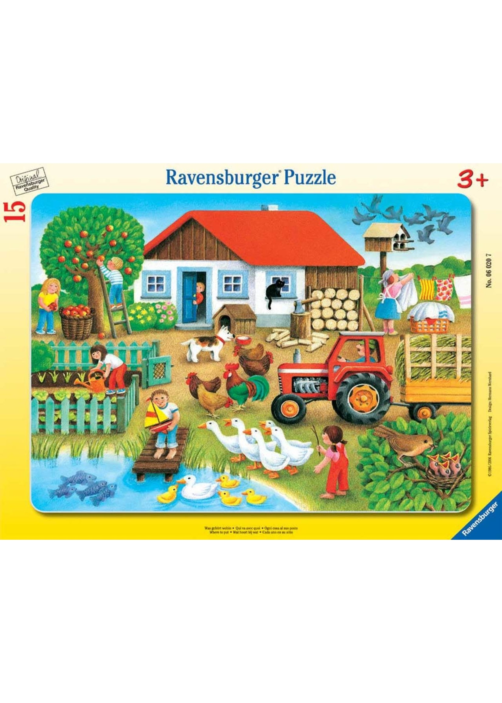 Ravensburger 15pc puzzle Where to Put It?