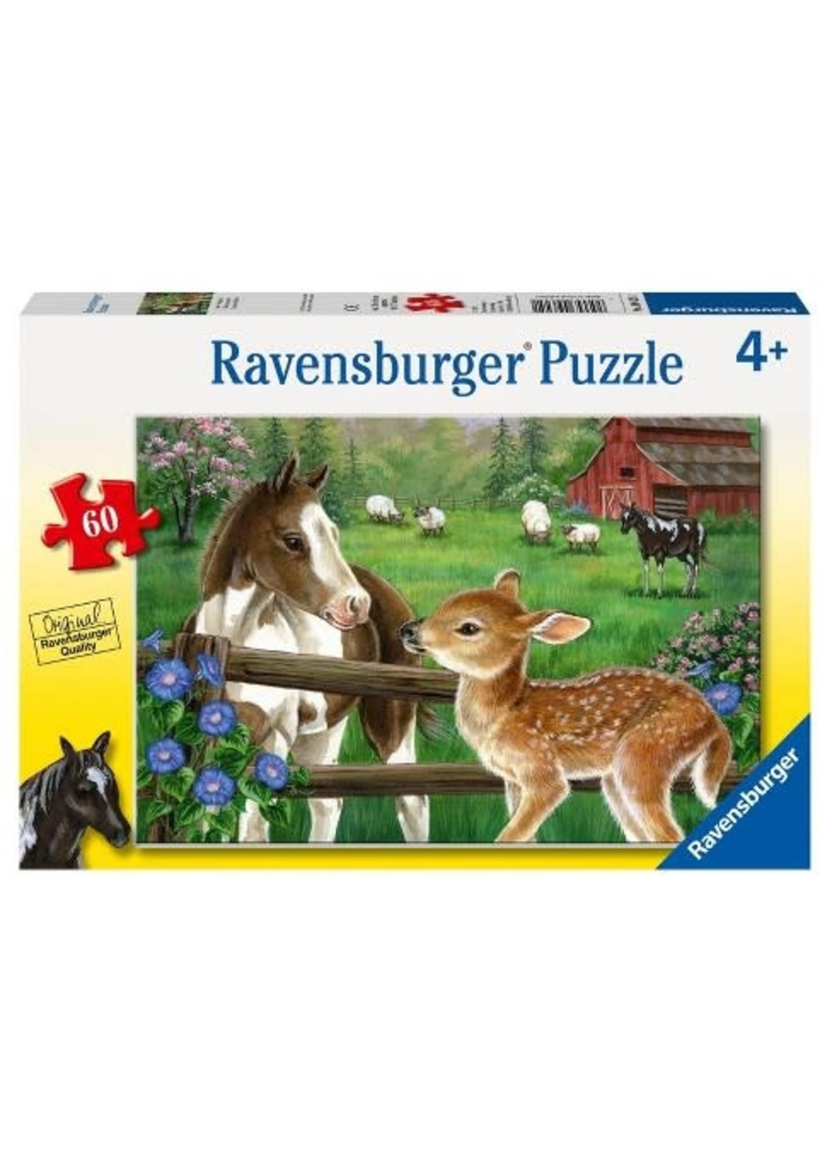 Ravensburger 60pc puzzle New Neighbors