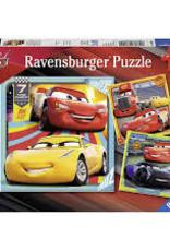 Ravensburger 3x49pc puzzle Cars 3