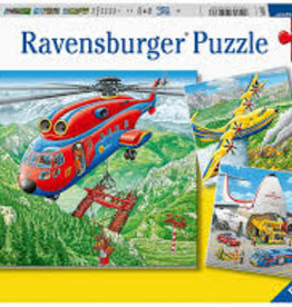 Ravensburger 3x49pc puzzle Above the Clouds