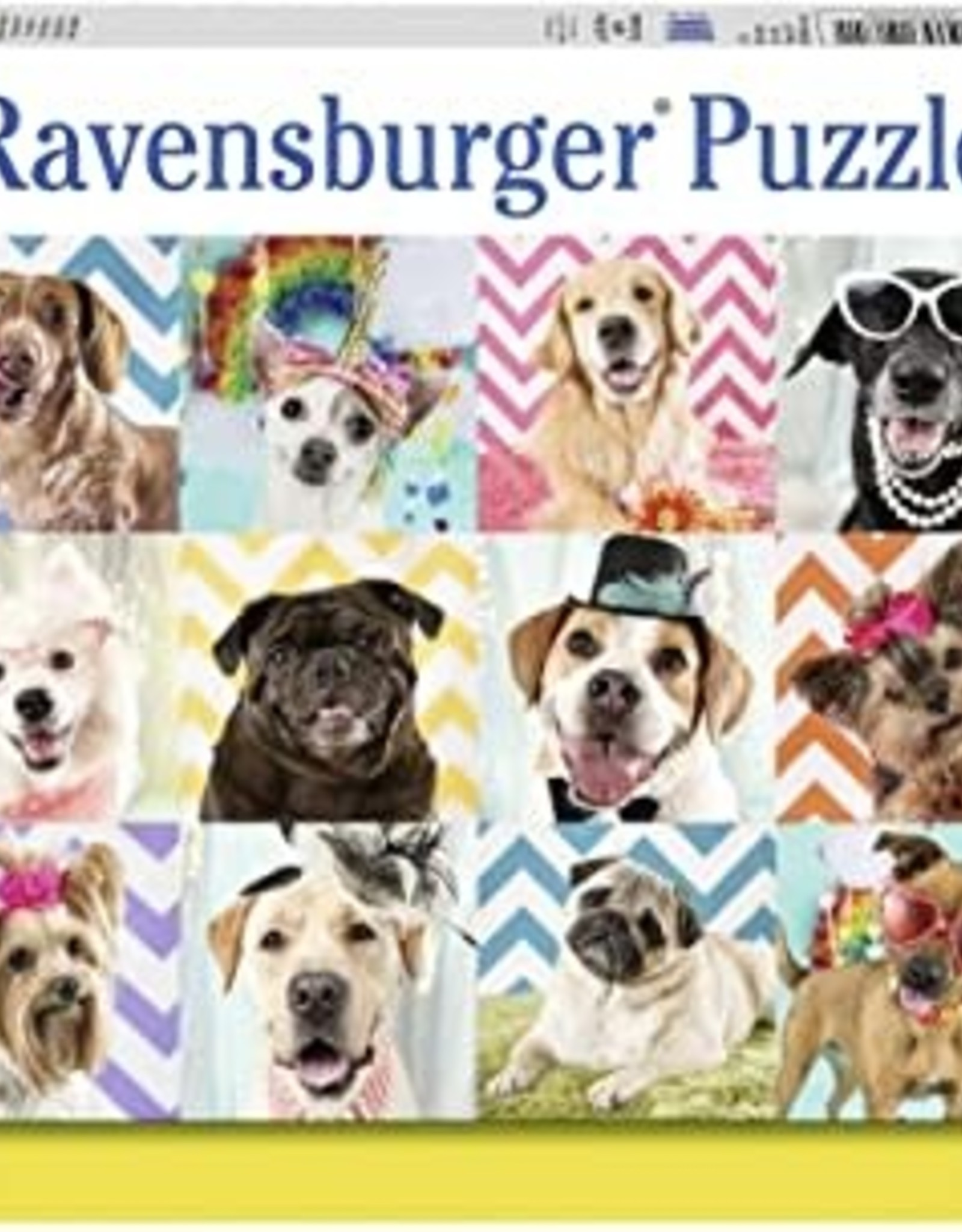 Ravensburger 100pc XXL puzzle Doggy Disguise