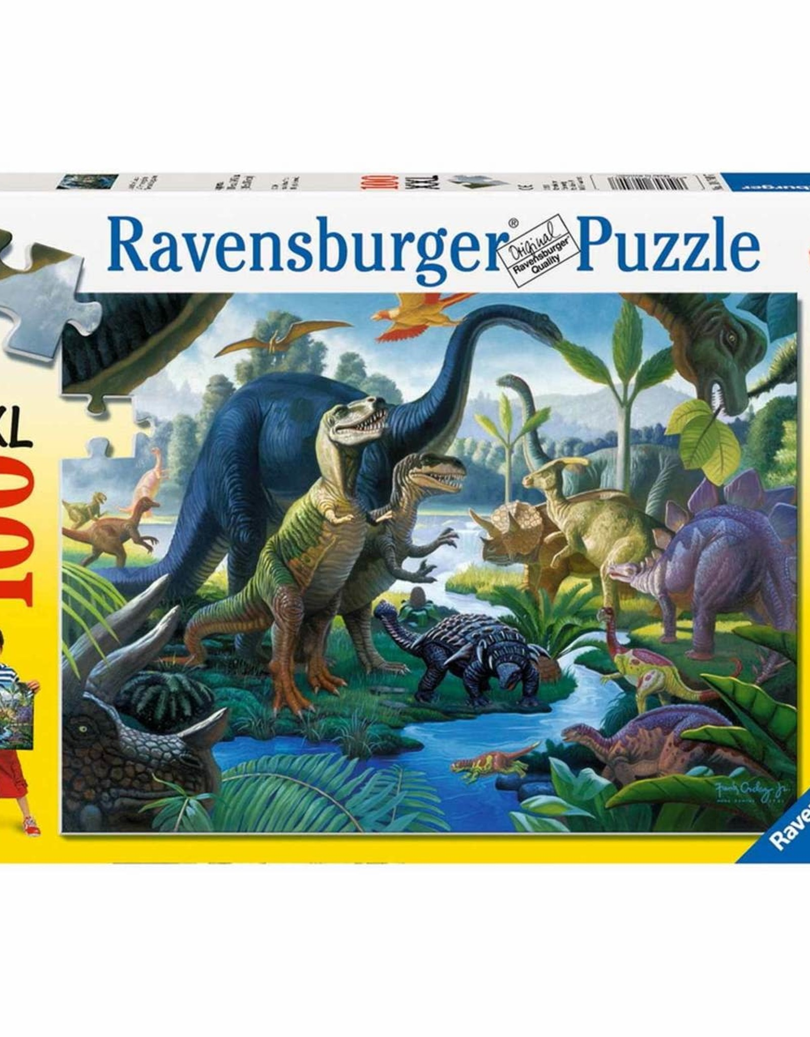 Ravensburger 100pc XXL puzzle Land of Giants