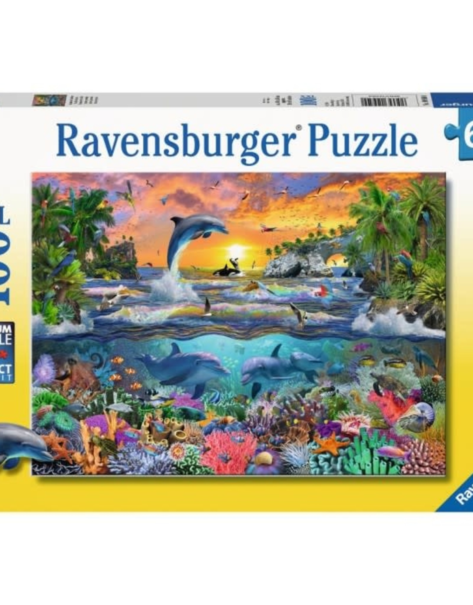 Ravensburger 100pc XXL Puzzle Tropical Paradise