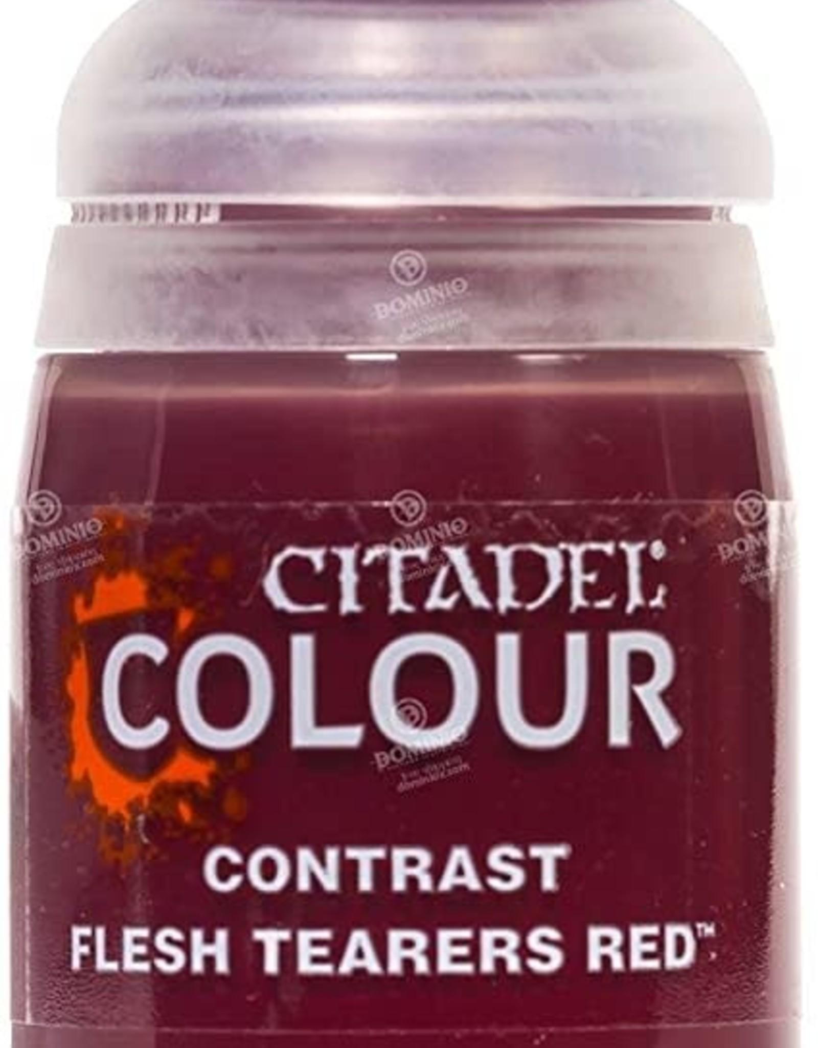 Citadel Paint Contrast: Fleshtearers Red