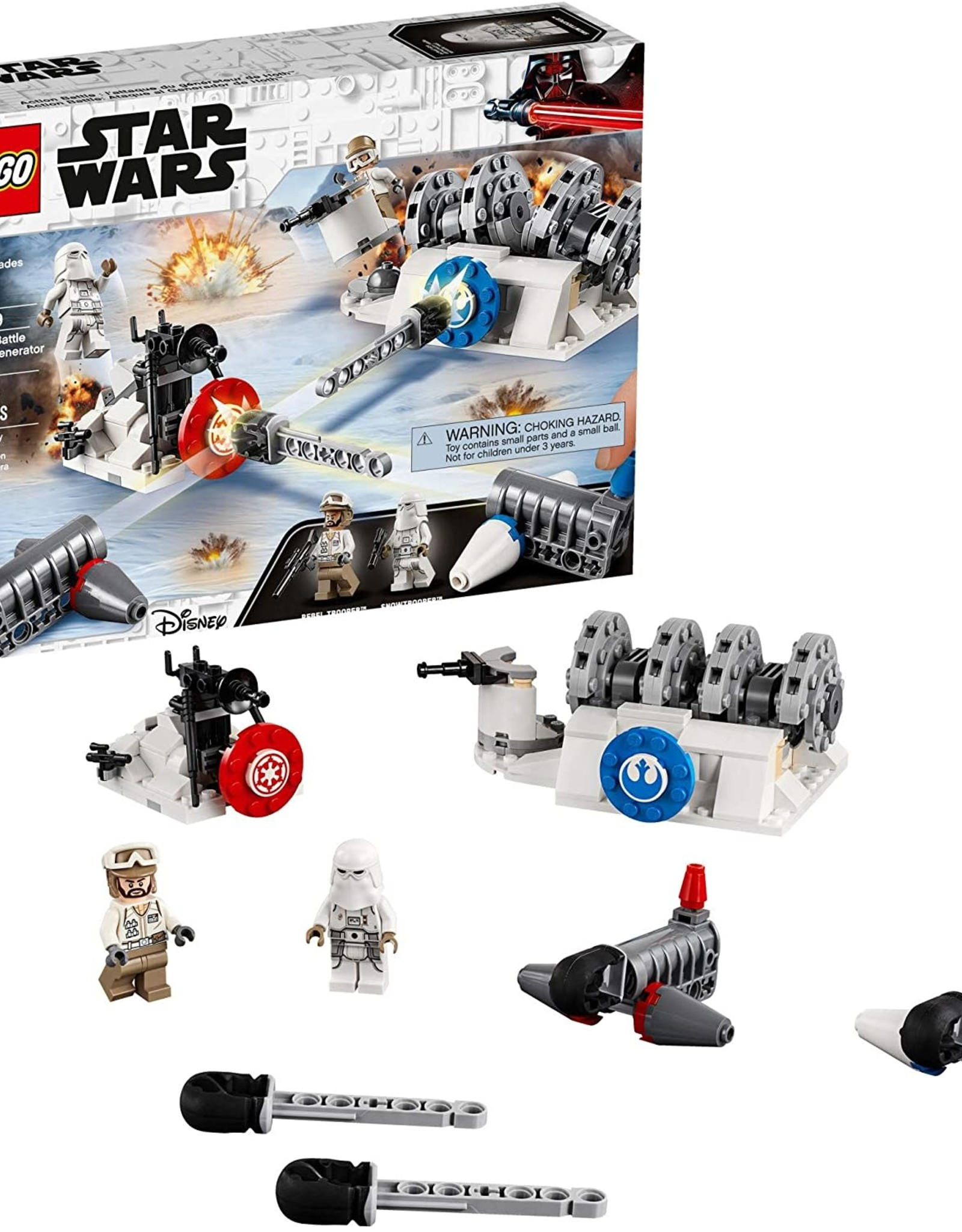 Lego Battle Hoth Generator Attack