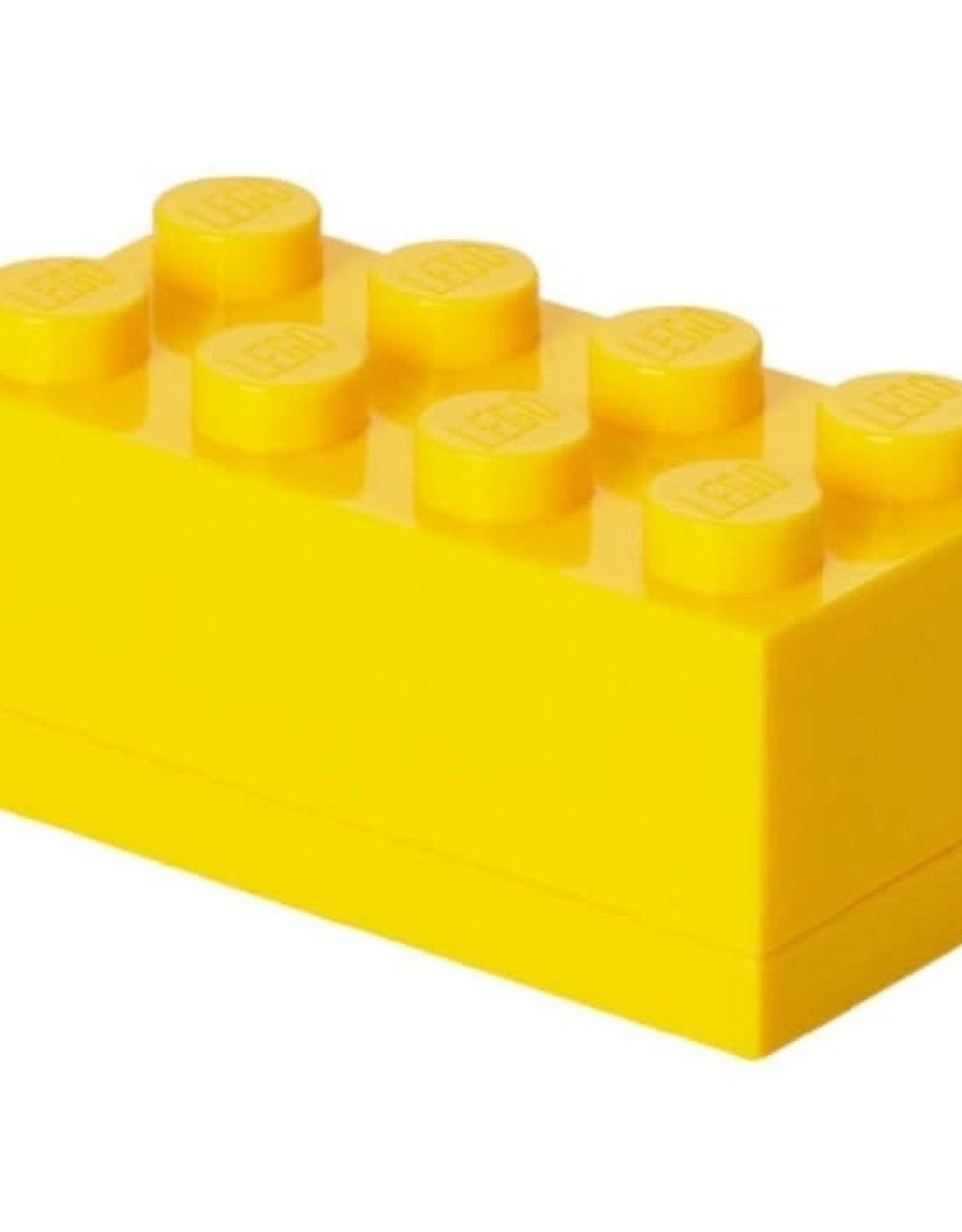 Lego Mini Box Yellow