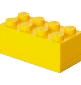Lego Mini Box Yellow