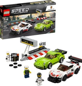 LEGO Speed Champions Porsche 911 RSR and 911 Turbo 3.0 75888 Building Kit