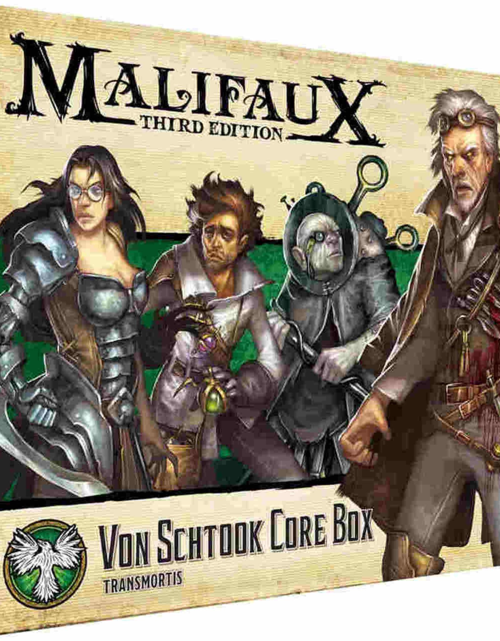 Wyrd Malifaux 3E Von Schtook Core Box