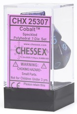 Chessex Cobalt Speckled 7 set CHX25307