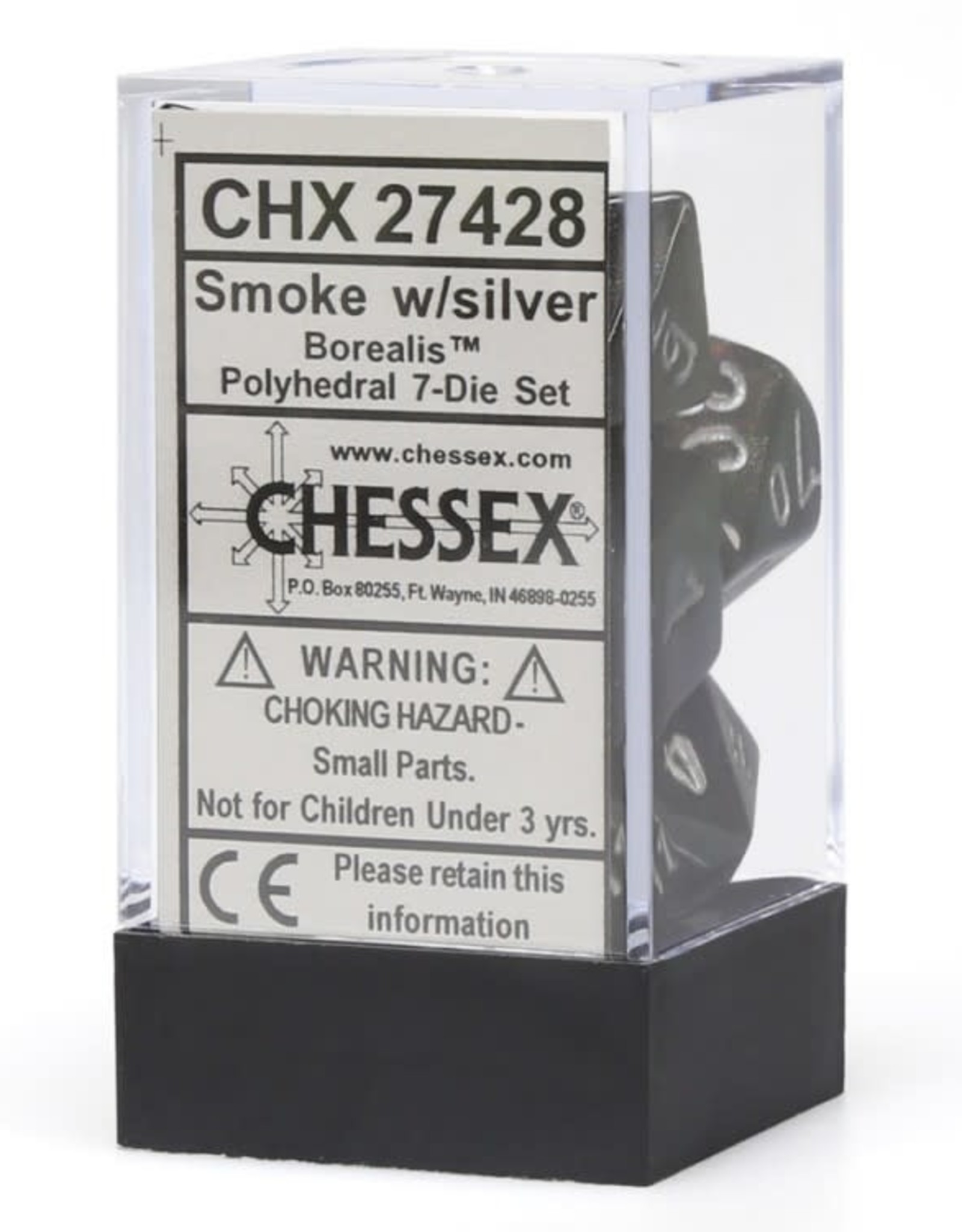 Chessex 7-setCubeBOR#2 SMsv