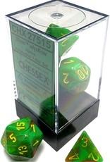 Chessex Vortex Poly 7 set:  Slime w/ Yellow