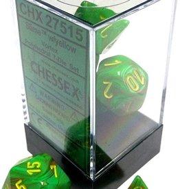 Chessex Chessex CHX27515 Dice-Vortex Slime/Yellow Set