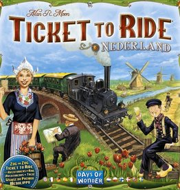 Days of Wonder Ticket to Ride: Nederland Map Col 4
