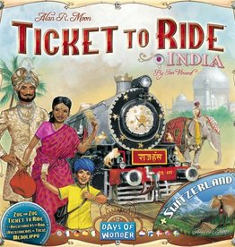 Days of Wonder Ticket to Ride: India Map Collection 2