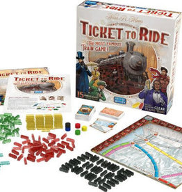Days of Wonder Ticket to Ride US 15th Anniversary Editi