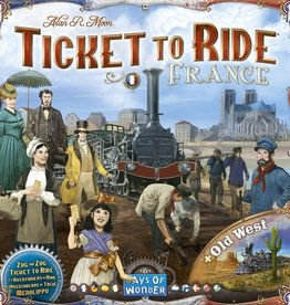 Days of Wonder Ticket to Ride: France/Old West Map 6