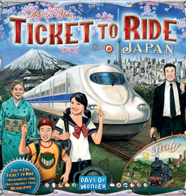 Days of Wonder Ticket to Ride: Japan & Italy Map 7