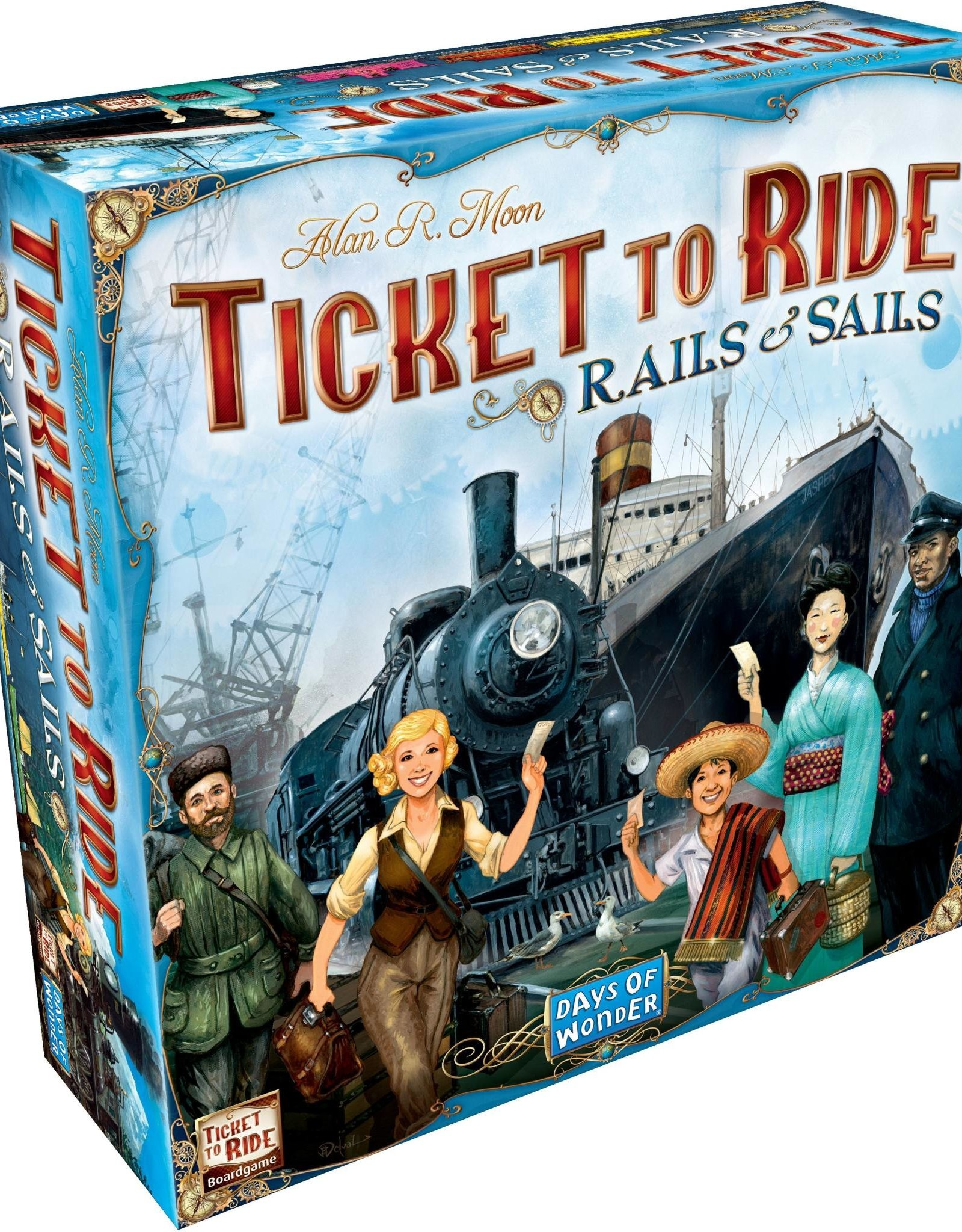 Days of Wonder Ticket to Ride: Rails & Sails