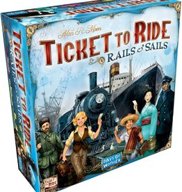 Days of Wonder Ticket to Ride: Rails & Sails