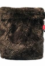Fur Dice Bag: Brown Bear