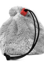 Fur Dice Bag: Dire Wolf Gray