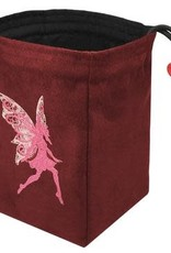 Red King Embroidered Bag: Baroque Fairy