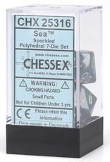 Chessex Chessex CHX25316 Dice-Speckled Sea Set