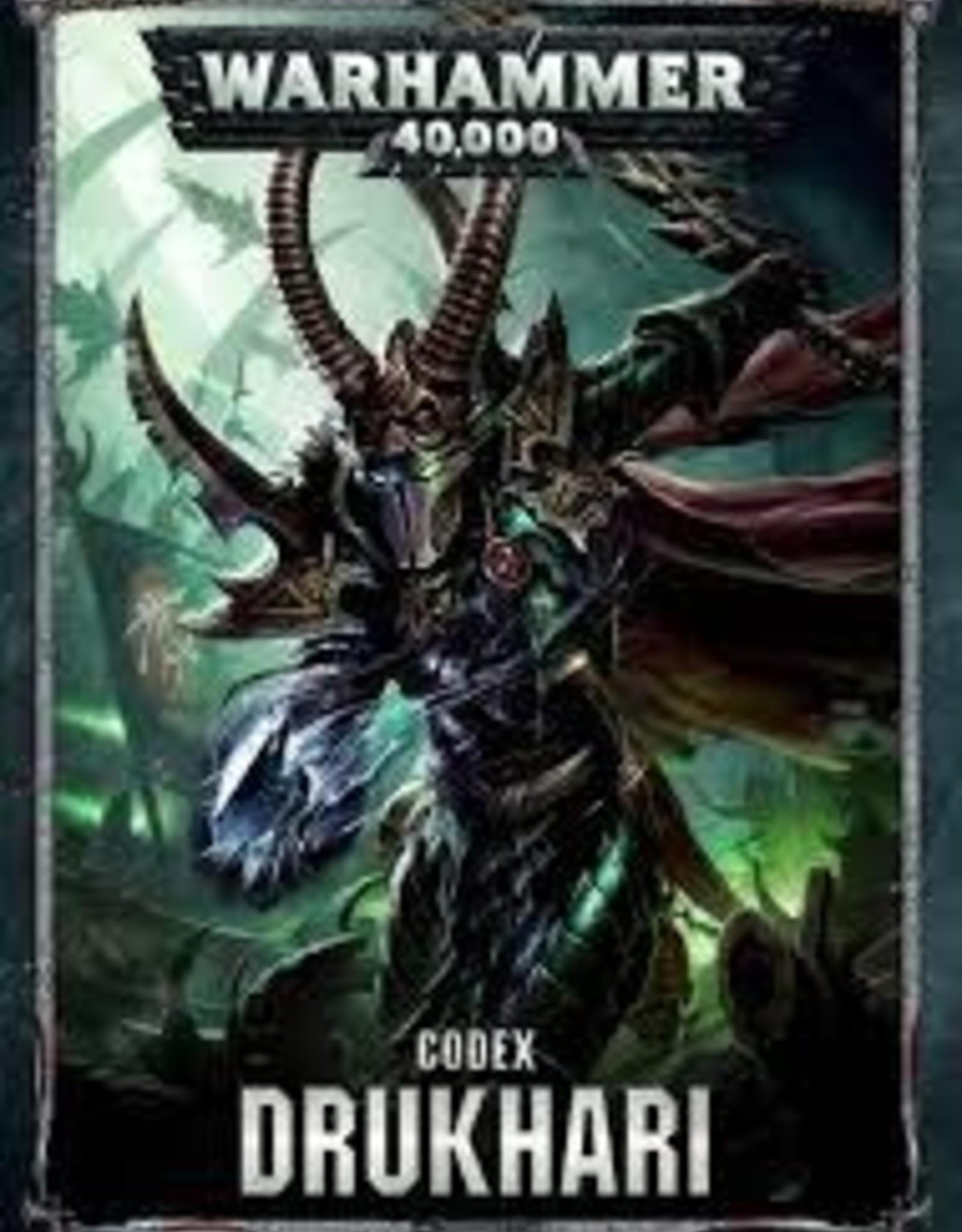 Games Workshop CODEX: DRUKHARI (HB) (ENGLISH)