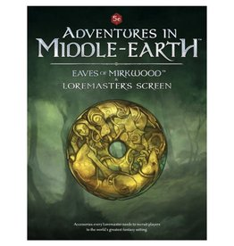 Cubicle 7 Adv Middle Earth: Eaves Mirkwood & Loremaster Screen