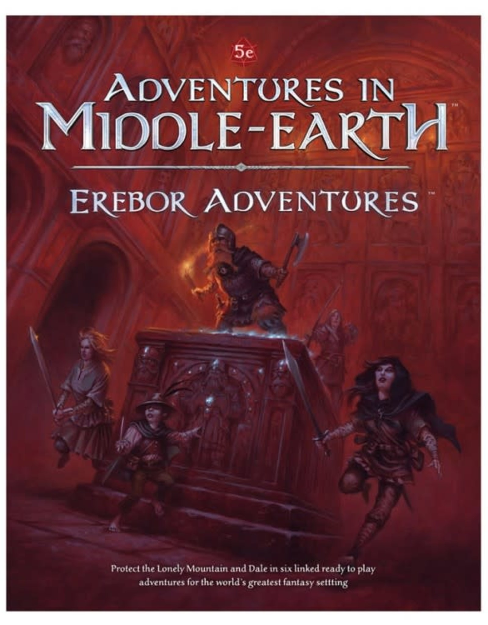 Cubicle 7 Adventures in Middle Earth RPG: Erebor Adventures