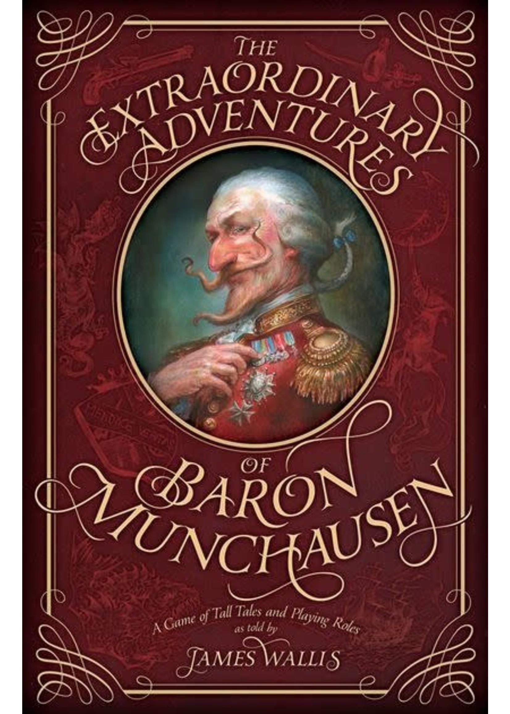 Fantasy Flight Games The Extraordinary Adventures of Baron Munchausen