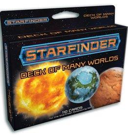 PAIZO Starfinder Deck of Many Worlds