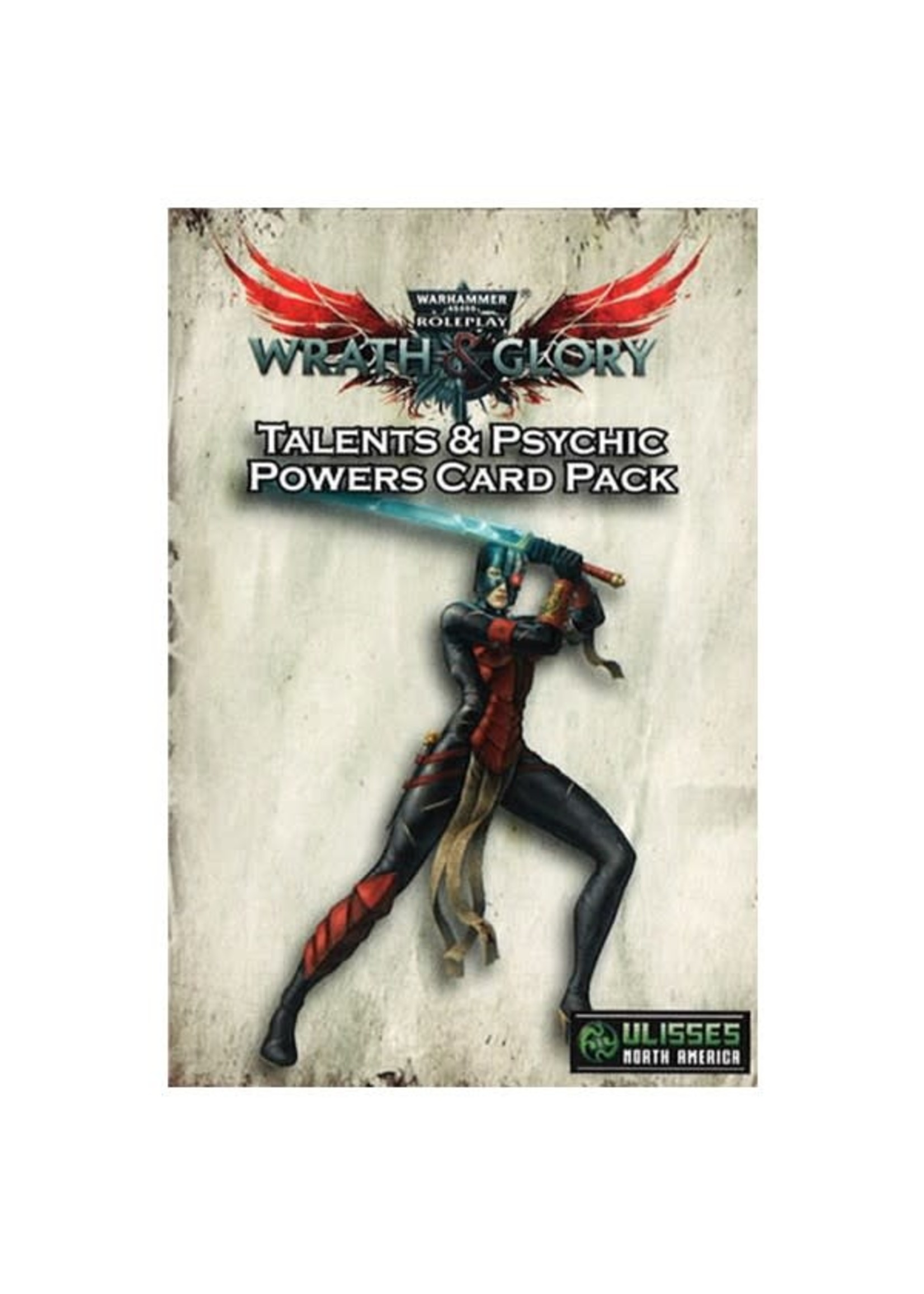 Ulisses North America W&G: 40K: Talents & Powers Card Pack