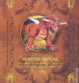 Wizards of the Coast AD&D Reprint Monster Manual