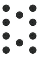 Games Workshop Citadel 25mm round bases (10)