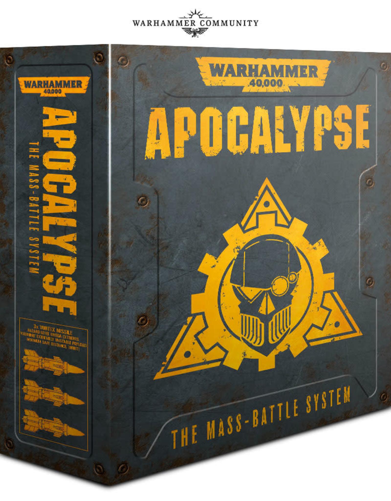 Games Workshop Apocalypse Mass battle System