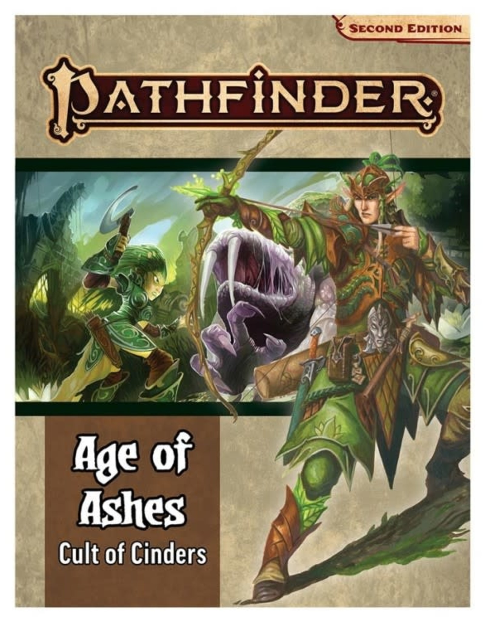 PAIZO Pathfinder 2e: AoA 2: Cult of Cinders