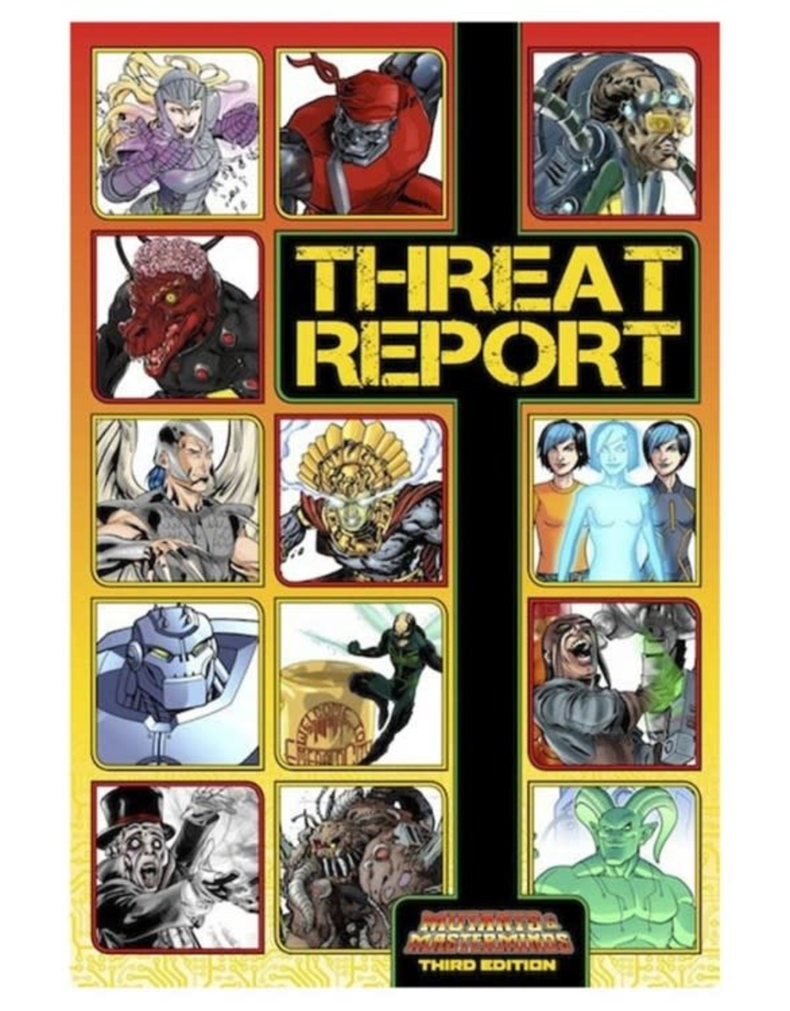 Green Ronin Publishing Mutants & Masterminds 3rd: Threat Report