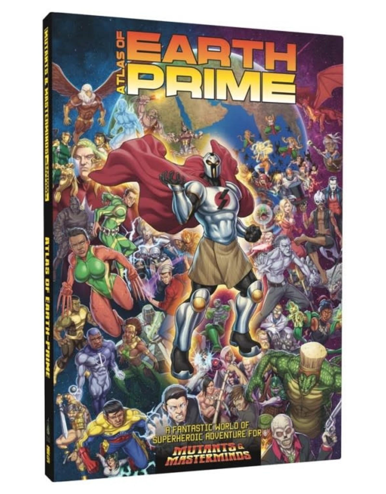 Green Ronin Publishing Mutants & Masterminds 3rd: Atlas of Earth Prime