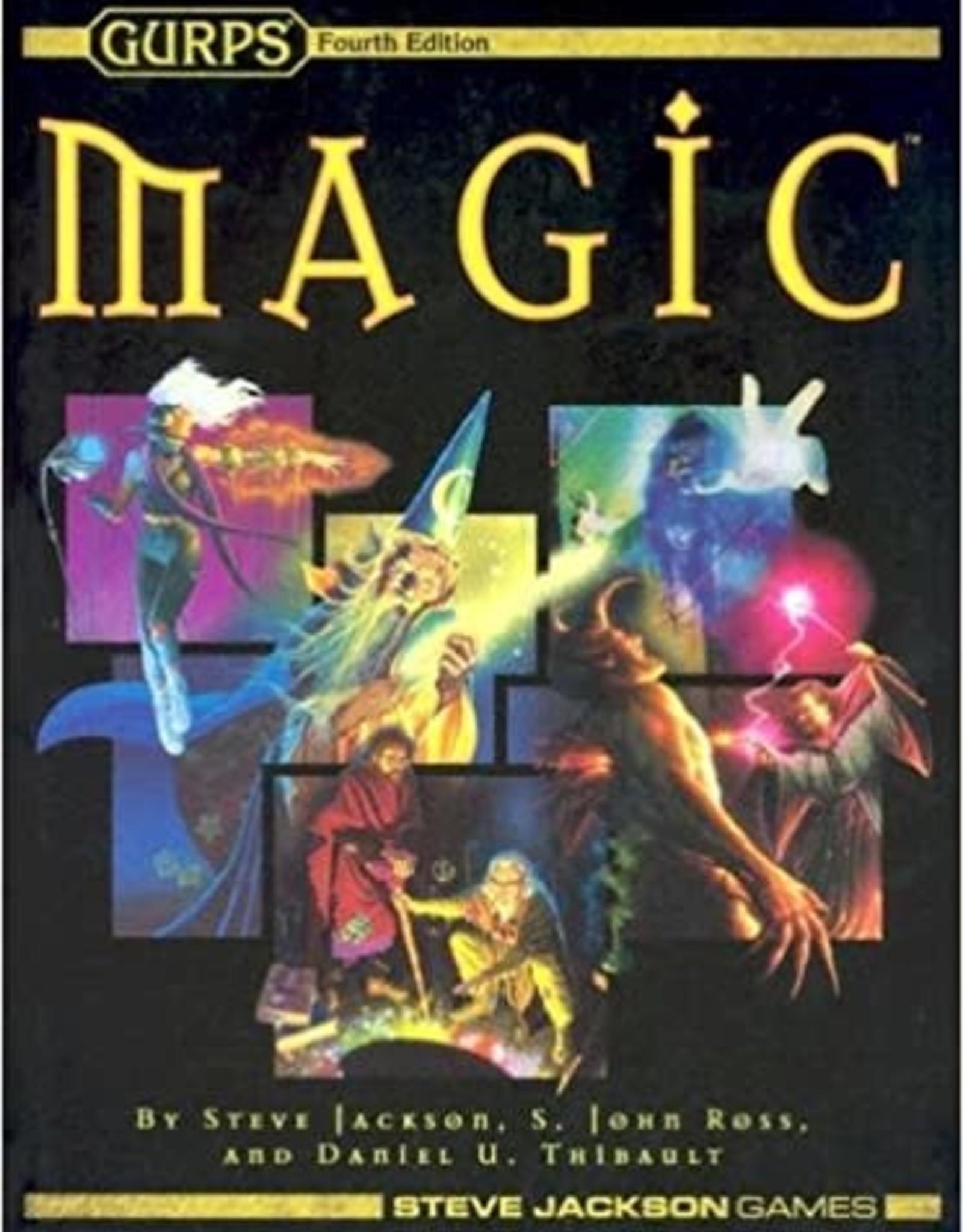 Steve Jackson Games GURPS Magic 4th Edition