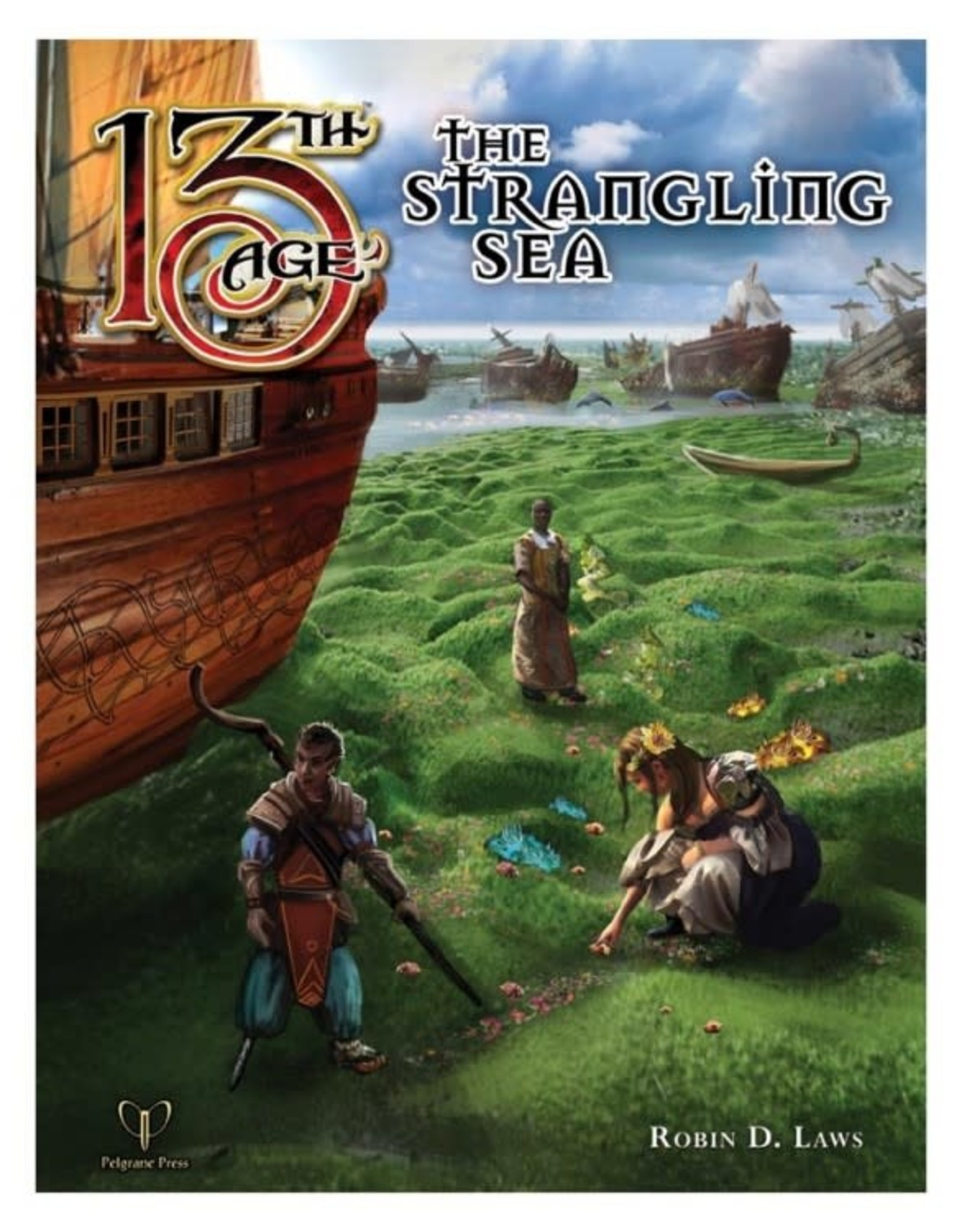 Pelgrane Press 13th Age The Strangling Sea