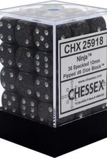 Chessex Chessex Speckled Ninja 12mm (Small) 36 Dice Set